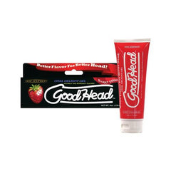 Good Head Oral Gel - 4 oz Sweet Strawberry