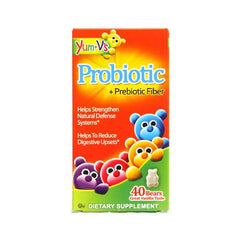 Yum V's Probiotic Plus Prebiotic Fiber Vanilla 40 Bears