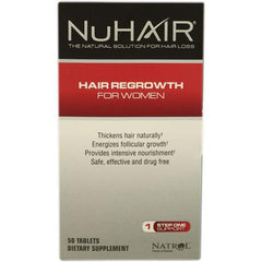 Natrol Hair Regrowth NuHair Women (1x60 Tablets)