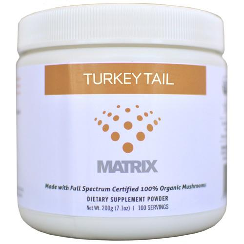 Mushroom Matrix Turkey Tail Organic Powder (1x7.14 Oz)