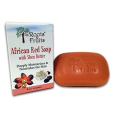 Roots and Fruits Bar Soap African Red Soap Shea Butter (1x5.0 Oz)