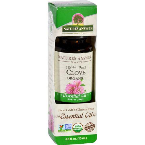 Natures Answer Essential Oil  Organic  Clove  .5 oz