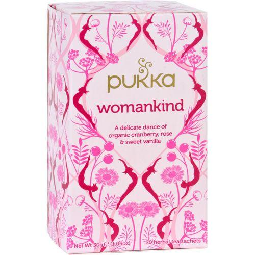 Pukka Herbal Teas Tea  Organic  Womankind  20 Bags  Case of 6