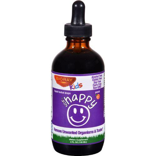 Bioray Kids NDF  Happy  Drops  Peach  4 oz