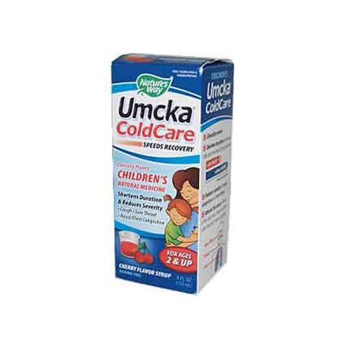 Nature's Way Umcka Children ColdCare Syrup Cherry (4 fl Oz)