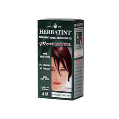Herbatint Permanent Herbal Haircolour Gel 4M Mahogany Chestnut (1x135 Ml)