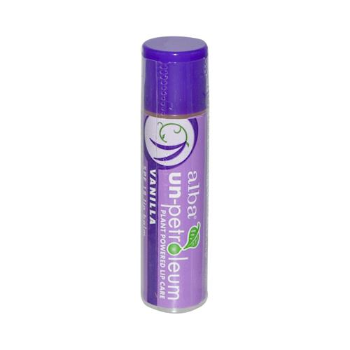 Alba Un Petroleum Lip Balm with SPF 18 Vanilla  0.15 oz  Case of 24