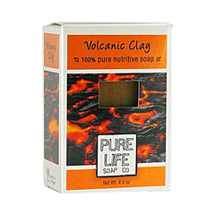 Pure Life Volcanic Clay Soap (1x4.4 Oz)