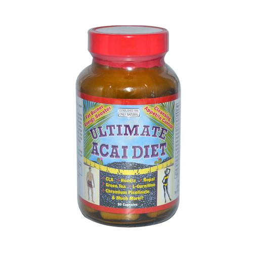 Only Natural Ultimate Acai Diet (90 Capsules)