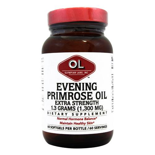 Olympian Labs Evening Primrose Oil Extra Strength 1300 mg (60 Softgels)