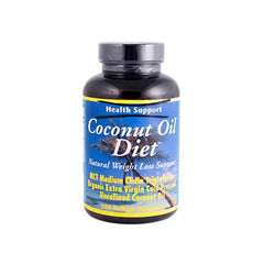 Health Support Coconut Oil Diet (120 Softgels)
