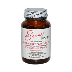 Sonne's Whole Beet Plant Juice No 18 400 mg (150 Tablets)