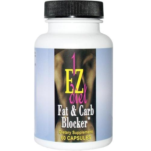 Maximum International 1-EZ Fat and Carb Blocker (60 Capsules)