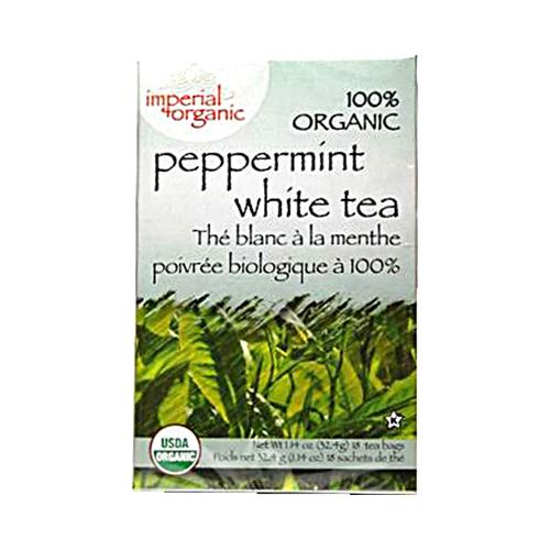 Uncle Lee's Imperial Organic Peppermint White Tea (1x18 Tea Bags)