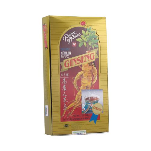 Prince of Peace Instant Korean Panax Ginseng Tea (1x100 Tea Bags)