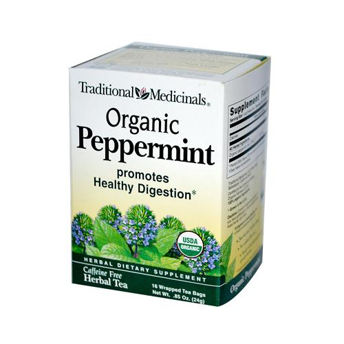 Traditional Medicinals Peppermint Tea (1x16 Bag)