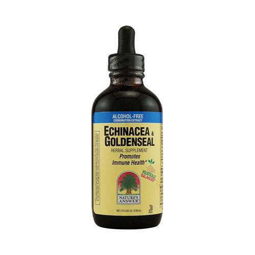 Nature's Answer Echinacea and Goldenseal (4 fl Oz)