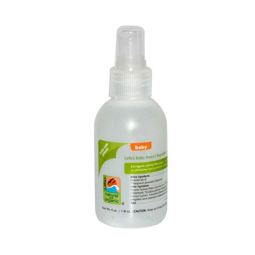 Lafe's Natural and Organic Baby Insect Repellent (4 fl Oz)