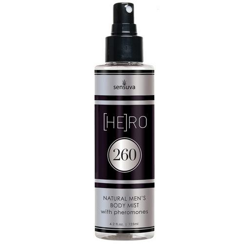 Sensuva Hero 260 Male Body Mist - 4.2 oz