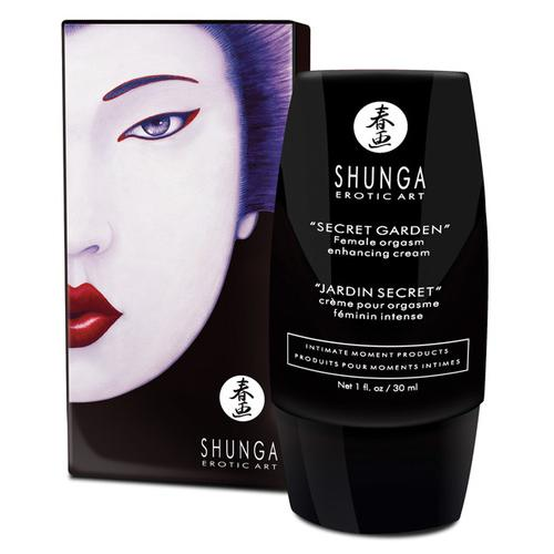 Shunga Secret Garden Enhancing Cream for Her - 1 oz