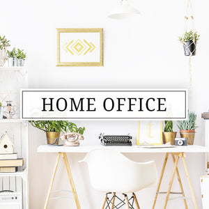 Vinyl wall decals and stickers for your home office, workspace, or office