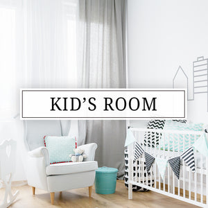 Vinyl wall decals, vinyl door decals, and stickers for your kids room, nursery, baby's room, or playroom