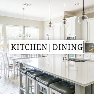 Vinyl wall decals, vinyl door decals, and stickers for your kitchen, dining room, or pantry