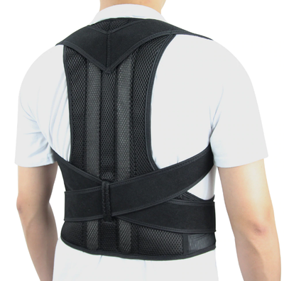 Full Back Comfort Posture Corrector Back Support Brace for Women and Men