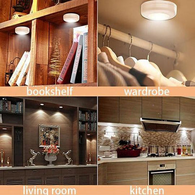 Color Changing Remote Controlled LED Wireless Lights