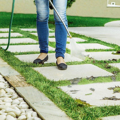 High-Pressure Power Washer - Your cleaning companion!