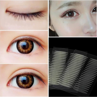 Eyelid Sticker DZT1968 200 Pairs Olive-shaped Eyelid Paste-shaped Double Eyelid Sticker Tape Eye Tape