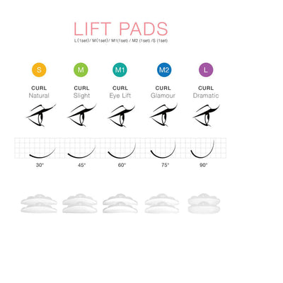 Eyelash Perming Kit + Lash Lifting Curling Set, Cilia Lift Extensions