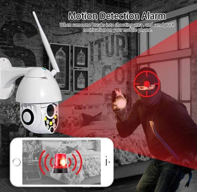 Wireless Outdoor Home Security Surveillance Camera System