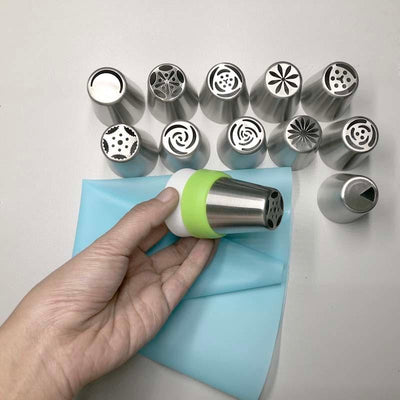 Russian Piping Tips - Artistic Tulips Icing Pastry Nozzle Set