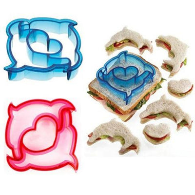 Funky Sandwich Moulds (9pcs Set)