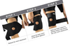 Knee Brace Open Patella Stabilizer With Adjustable Strap