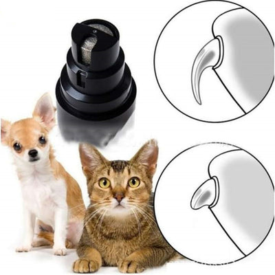 USB Rechargable Dogs and Cats Nail Clippers
