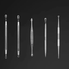 8pcs Blackhead Acne Pimple Blemish Extractor Remover Tool Kit Curved