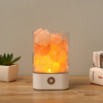 USB Himalayan Salt Crystal Lamp