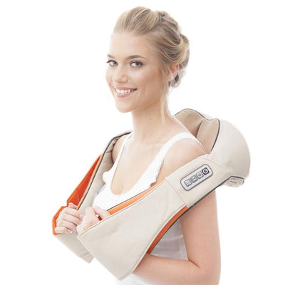 Shiatsu Massager Kneading Massage Therapy for Foot, Back, Neck and Shoulder