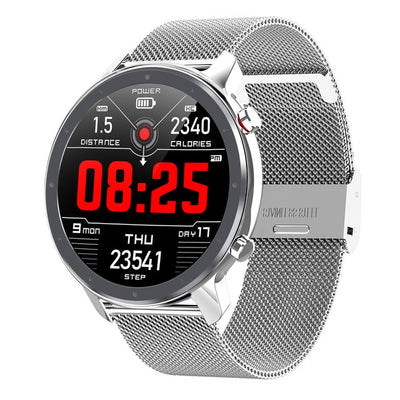 HD Full Screen Touch IP68 Waterproof Smart Watch (Advanced ECG, Heart Rate, Blood Pressure, Blood Oxygen Monitoring)