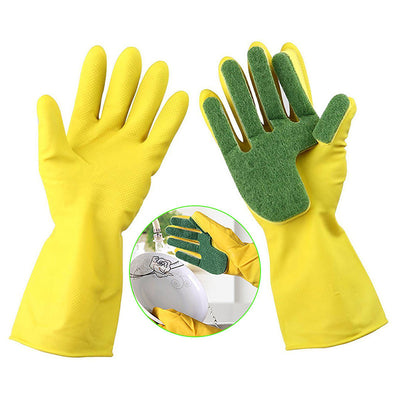 Dishwashing Scrub Gloves