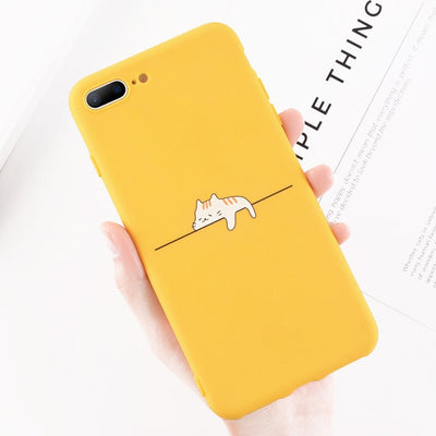 Funny Cartoon Giraffe Phone Case For iPhone