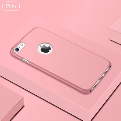 Ultra Thin Matte Case For iPhone