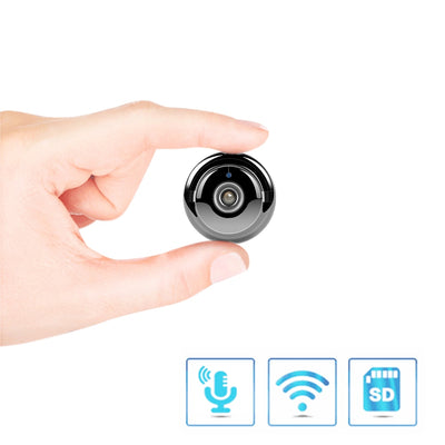 Mini WiFi Camera With Smartphone App and Night Vision (32 GB Memory Card Included)