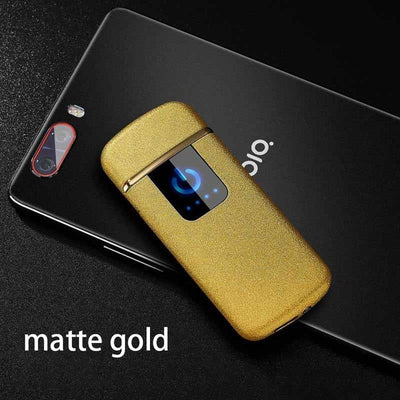 Electric USB Windproof Touch Sensitive Lighter