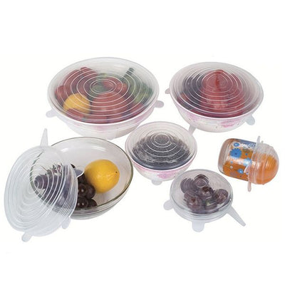 Stretch & Seal Lids (12Pcs/Set)