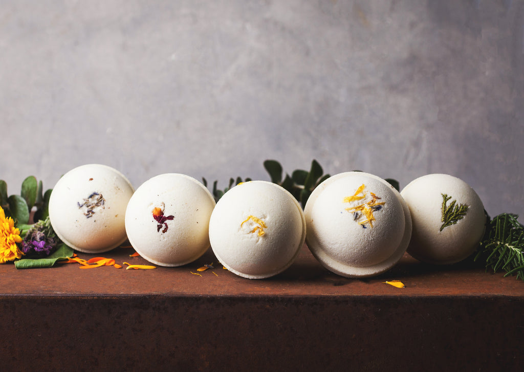 5 CBD Bath Bombs