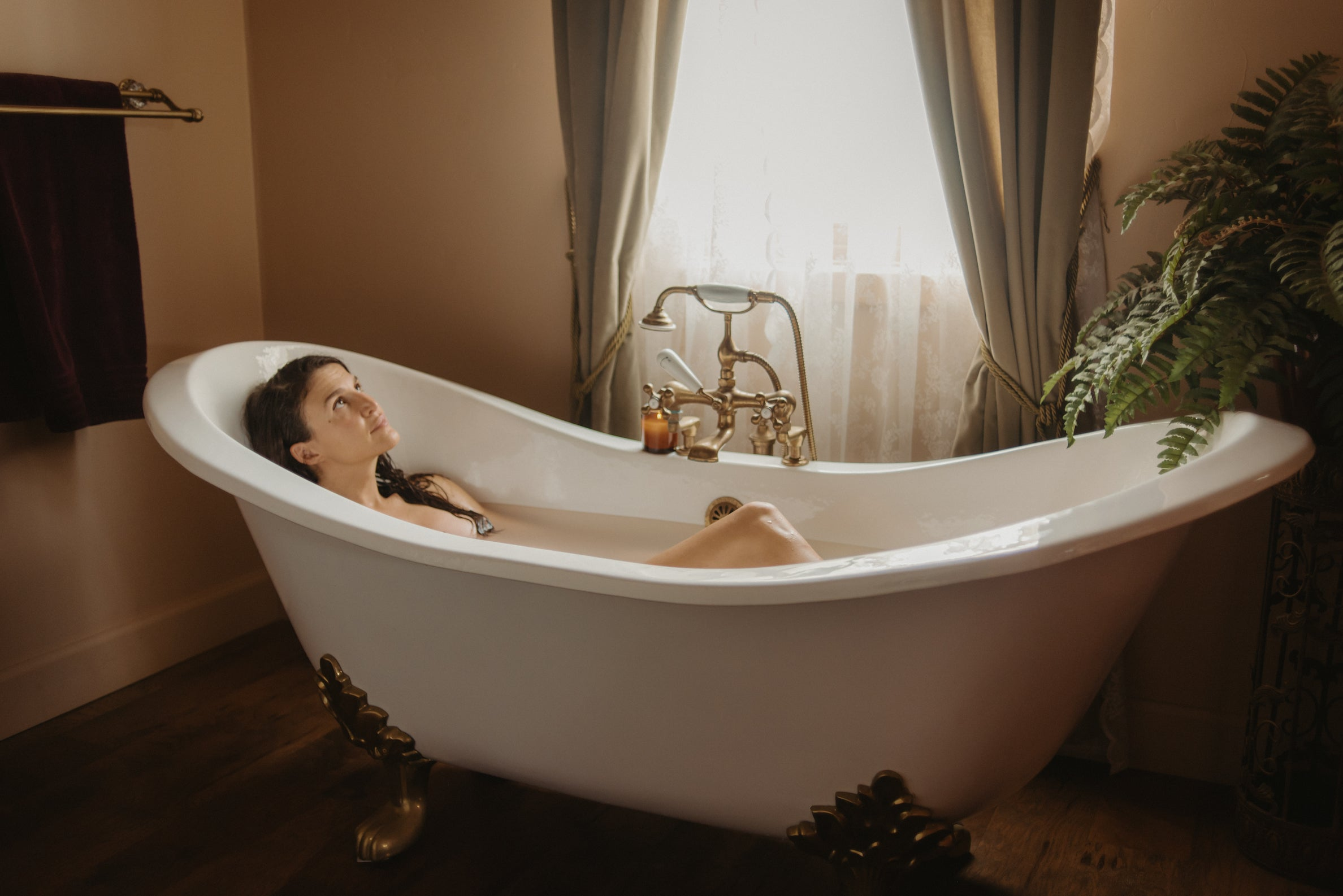 Bath Ritual Setting intentions