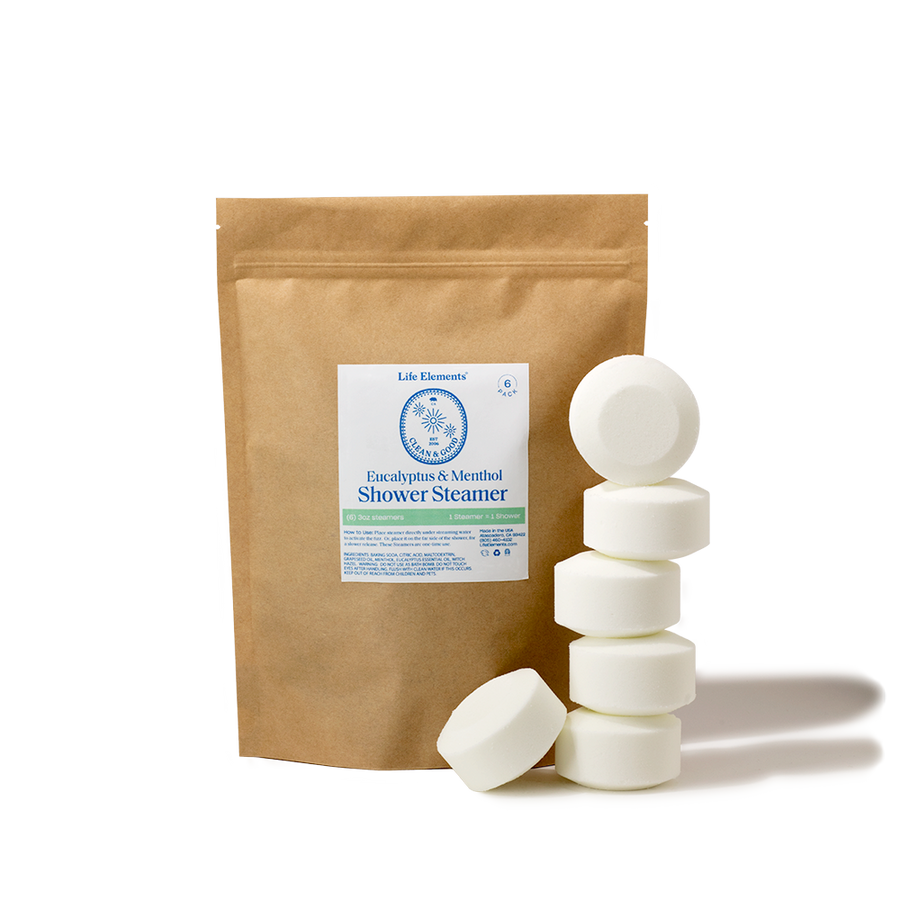 Shower Steamer - Eucalyptus & Menthol / 6 Pack